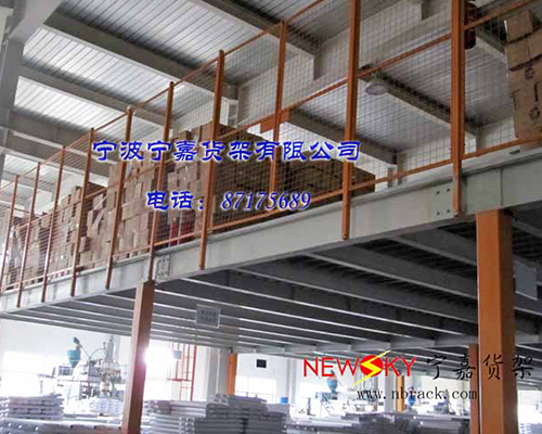 武汉钢结构平台货架